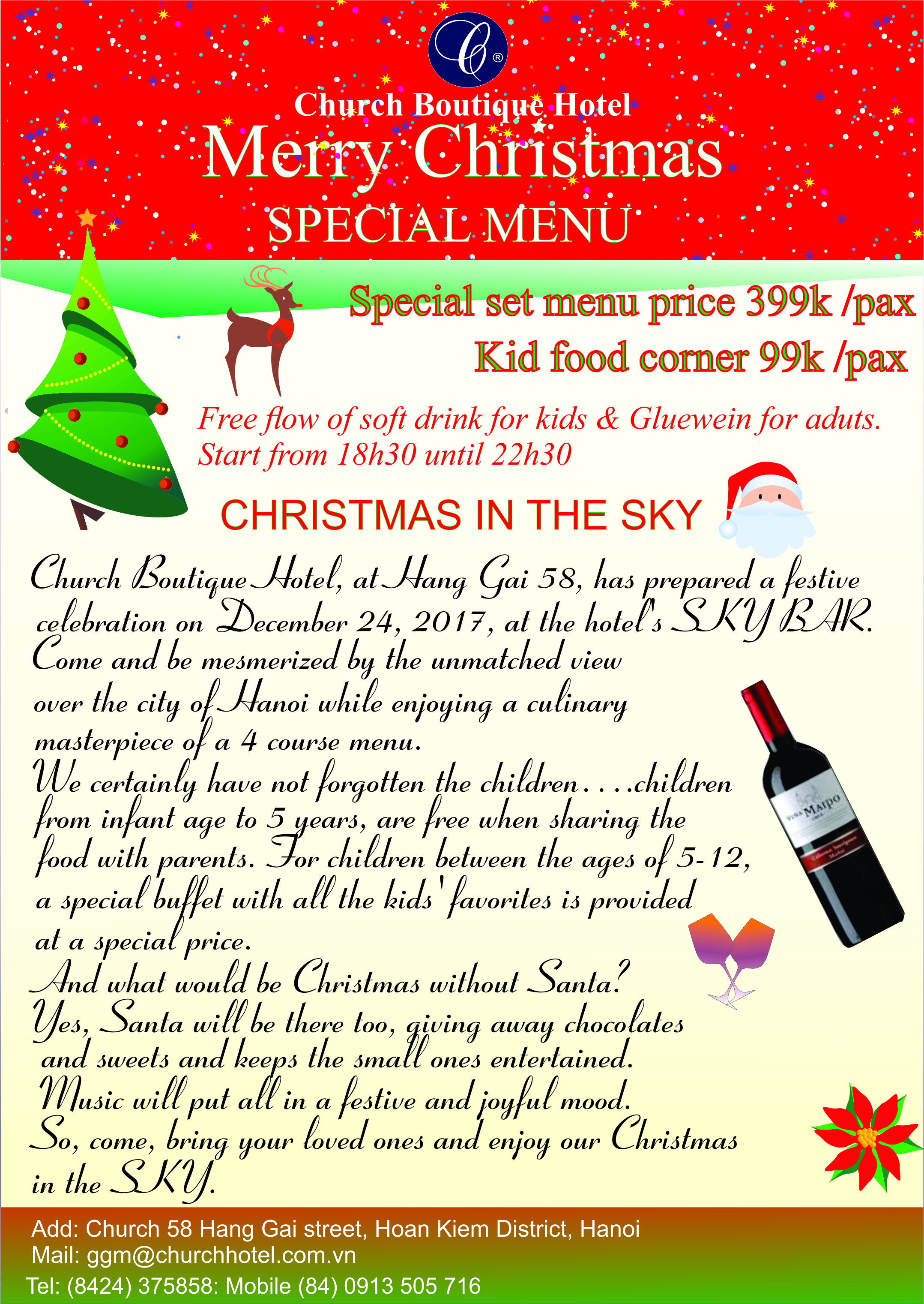 Christmas & New Year Special Deal
